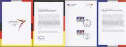 "Bund + Frankreich: Minister Card - Ministerkarte Mi-Nr. 2977: "" Élysée-Vertrag "" Joint Issue Gemeinschaftsausgabe !   X - Covers & Documents"