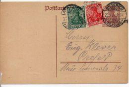 3347/ Deutsches Reich Ganzsache P 116 Mit ZuF Gelaufen/ Used - Postwaardestukken