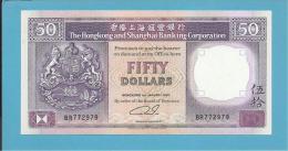 HONG KONG - 50 DOLLARS - 1991 - P 193.c - UNC. - 2 Scans - Hong Kong