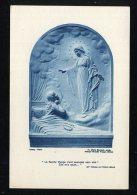 1950-image Pieuse-64    Image Pieuse La Sainte Vierge  Abbaye Grande Trappe Orne - Images Religieuses