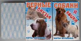 Russian Playing Cards DOGS & CATS (36) (2) - Playing Cards (classic)
