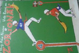 Greeting Card Jai Alai Pelote Basque - Unclassified