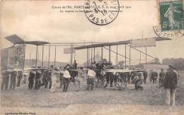 NANCY - JARVILLLE  -  Circuit De L'Est  - La Rentrée Au Hangar Du Biplan De Legagneux - Avion, Aviation,Aviateur - Nancy