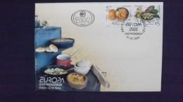 Jugoslawien 5269/70 FDC, EUROPA/CEPT 2005, Gastronomie - FDC
