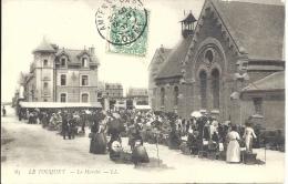 62 - LE TOUQUET - Pas De Calais - Le Marché - Le Touquet