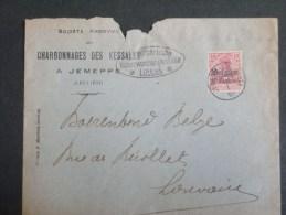 B/4512   LETTRE  1916 DE JEMEPPE S. MEUSE  CENSURE LUTTICH - Oorlog 14-18