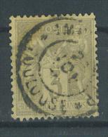 VEND TIMBRE DE FRANCE N° 87 + CACHET IMPRIMES PP TOULOUSE !!!! (d) - 1876-1898 Sage (Type II)