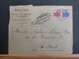B/4520   DEVANT DE  LETTRE     DE LIEGE    CENSURE LUTTICH - WW I