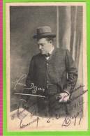 Dezair  Baryton Op�ra Comique,Th�atre Royal d�Anvers 1910-1912 Autographe