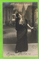Lina Dilson  1913   Premi�re Chanteuse L�g�re in 'Lakm�' Th�atre Royal d�Anvers,Autographe