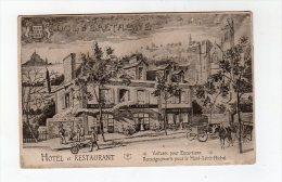 Jan15   3567699 Dol De Bretagne Hotel Restaurant   Voitures Pour Excurtions - Dol De Bretagne