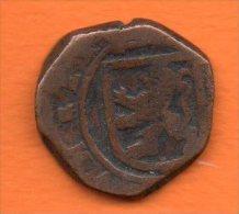 Espagne-   Tres Ancienne Piéce Espagnole En Bronze   Voir Scans - Espagne