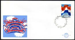 NIEDERLANDE 1972 - 400 Jahre Nationalflagge - FDC - Briefe