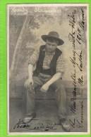 Henri Hardy , Premi�re Basse Op�ra Comique in �Glaneuse�  autographe 1910