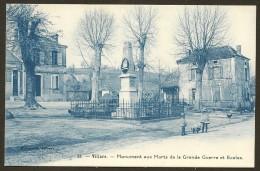 VILLARS Monument Aux Morts Et Ecoles (Lacotte) Dordogne (24) - Other Municipalities