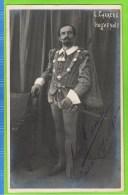 Leon Carr�re  Les Huguenots  Anvers 1909-1910 Autographe
