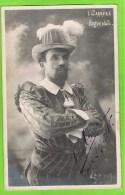 Leon Carr�re, in � Les Huguenot�s  Anvers 1909-1910 Autographe