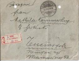 Lettre De Russie Recommanedée De Saint Petersbourg - 1857-1916 Empire