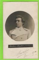 Breton Caubet �Werther�  autographe Th�atre Royal d�Anvers, 1910