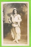 Breton Caubet   autographe Th�atre Royal d�Anvers