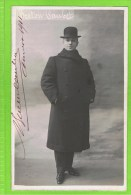 Breton Caubet   autographe Th�atre Royal d�Anvers, 1911
