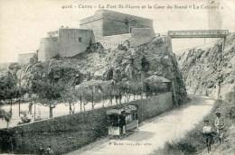 """4016   CETTE - Le Fort St-Pierre Et La Cour Du Stand """"La Cettoise"""" - Sete (Cette)"""
