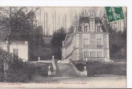 Carte 1908 AUBEVOYE / CHATEAU DE LA CREQUINIERE - Aubevoye