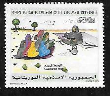 TIMBRE OBLITERE DE MAURITANIE DE 2000 N° MICHEL 1052 - Mauritanië (1960-...)