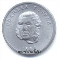 OTTAWA CANADA CHARLES TUPPER1896 GETTONE MONETALE PERSONAGGI FAMOSI - Monétaires / De Nécessité