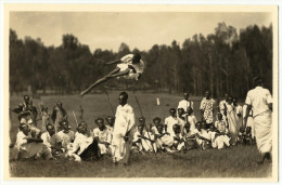 C. Zagourski - L´AFRIQUE QUI DISPARAIT ! Nº 94 - Ruanda. Saut De 2m20. Original Old Real Photo Postcard. - Kinshasa - Leopoldville
