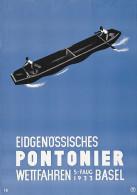 @@@ MAGNET - Eidgenössisches Pontonier - Wettfahren - Publicitaires