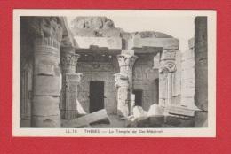 THEBES  //  Le Temple De Der Médineh - Egypt