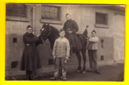 FOTOKAART CARTE PHOTO CAVALERIE SOLDATEN SOLDATS Paard Cheval Chevaux Cavalry Kavallerie Cavalleria Militaire WW1 3860 - Militaria