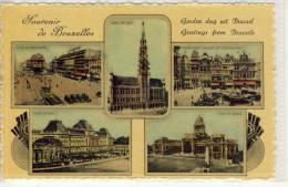 BRUSSELS - BRUXELLES, Souvenir, Goeden Dag, Greetings - Multi-vues, Vues Panoramiques