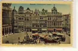 BRUSSELS - BRUXELLES, Gildenhuizen, Maisons Des Corporations - Markten