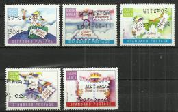 SOUTH AFRICA 2006 - HAVING FUN WITH STAMPS - CPL. SET - USED OBLITERE GESTEMPELT USADO - Oblitérés