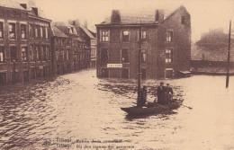 TILLEUR : Innondation 1925-26 - Entrée De La Commune - Saint-Nicolas