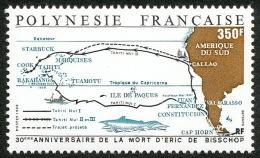 POLYNESIE 1988 - Yv. 311 ** SUP  Faciale= 2,94 EUR - Expéditions Taiti Nui, Eric De Bisschop ..Réf.POL21804 - Nuevos