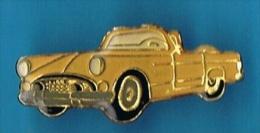 PIN´S //  . CHEVROLET BEL AIR CABRIOLET - Corvette