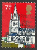 Great Britain, 7 1/2 P. 1972, Sc # 674, Used - 1952-.... (Elizabeth II)