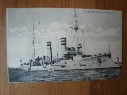 S.M.K1. Kreuzer Medusa, Gelaufen Mit Kaiserliche Marine Schiffspost Nr. 97 ! - Dampfer