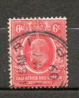 AFRIQUE ORIANTALE  Edouard VII 1907 N°126 - Kenya, Uganda & Tanganyika