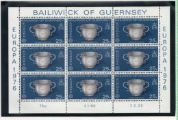 Guernesey - Guernsey 1976 Europa Feuillet Sheet - Guernesey