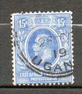 AFRIQUE ORIANTALE  Georges V 1912-21 N°138 - Kenya, Uganda & Tanganyika