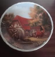 """Assiette Décorative """"la Ferme"""", Porcelaine Frelon - Assiettes"""