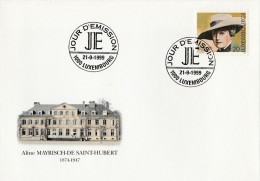 """Luxembourg 1999 - FDC 1er Jour - """"125ème Anniversaire De La Naissance D' Aline..."""" - Timbre Yvert & Tellier N° 1430 - FDC"""