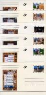 """BK 54/65 - Complete Reeks 12 Briefkaarten """"Getijdenboek"""" - Cartes Illustrées"""