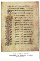 Dublino - Trinity College - Book Of Kells Fol. 200r. The Biginning Of The Genealogy Of Christ From St. Luke´s Gospel. - Dublin