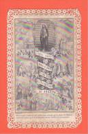 24332 Image Pieuse -dentelle Canivet - Sept Douleurs Sept Allegresses Saint Joseph -ed Turgis Jeune Paris - Images Religieuses