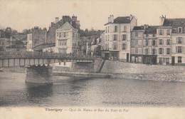 77  THORIGNY   Quai De Marne Et Rue Du Pont De Fer - Autres Communes